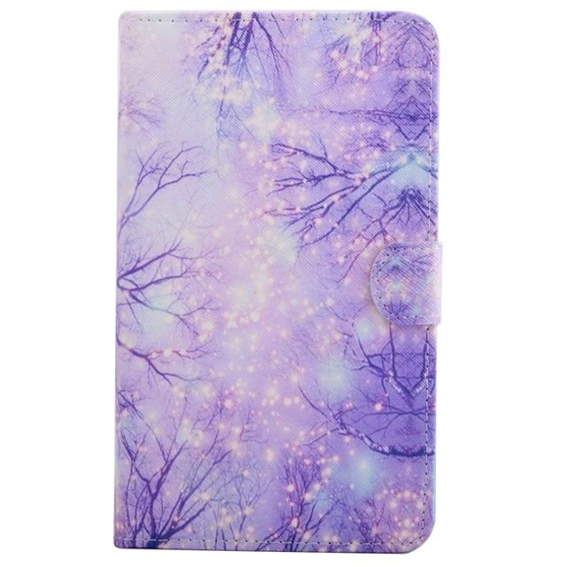 galaxy tab a 7 0 2016 case 2 Purple woods: