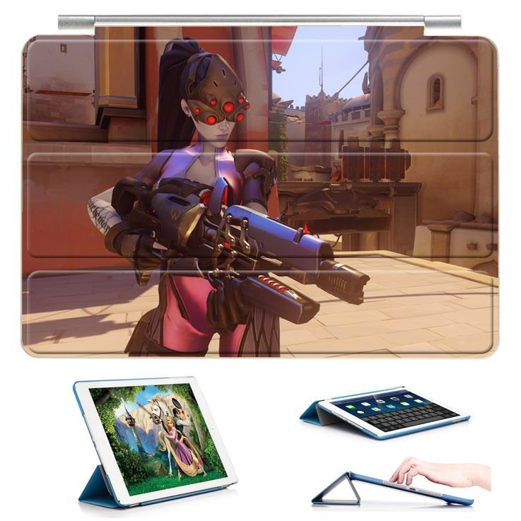 ipad air 2 case 5 Black Lily gun pose: