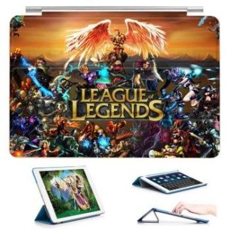 Case with 23 variants of different pictures of League LEGENDS and with 3-stand for iPad Air 1, iPad Air 2