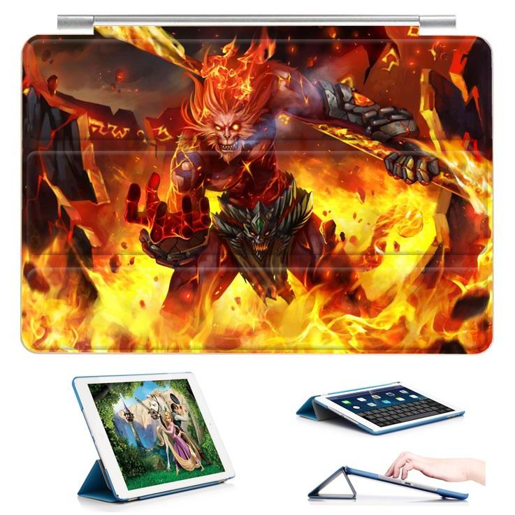 ipad air 2 case with 23 variants of different pictures of league legends and with 3 stand 11: