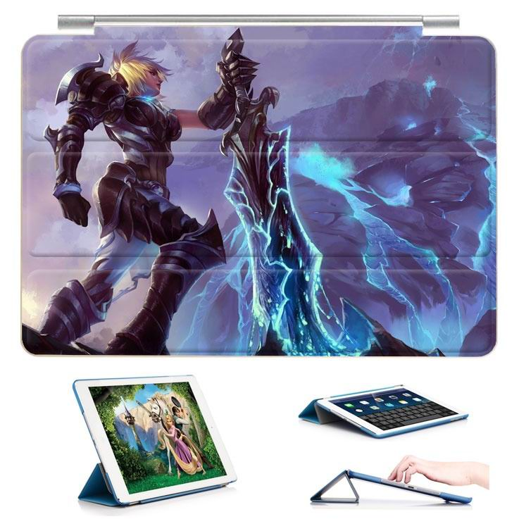 ipad air 2 case with 23 variants of different pictures of league legends and with 3 stand 14: