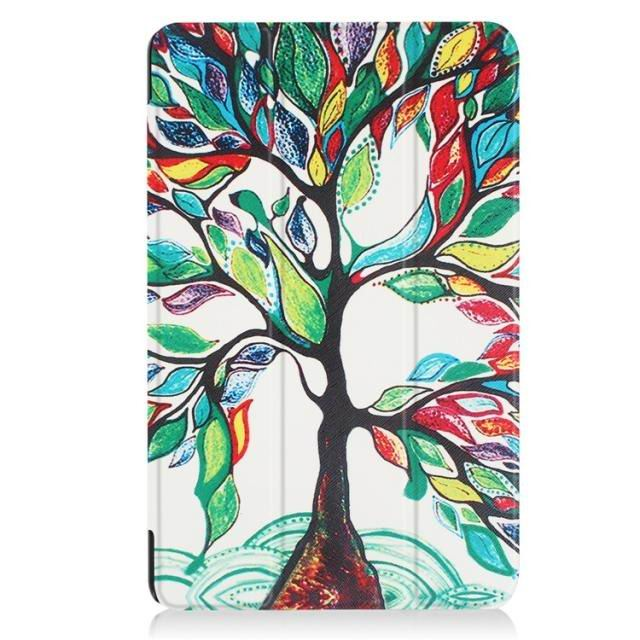galaxy tab a 10 1 2016 case with a huge collection of pictures and 3 stand tree: