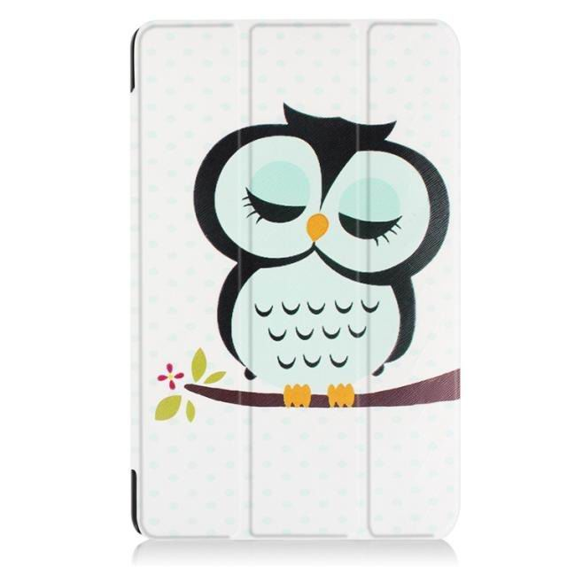 galaxy tab a 10 1 2016 case with a huge collection of pictures and 3 stand owl: