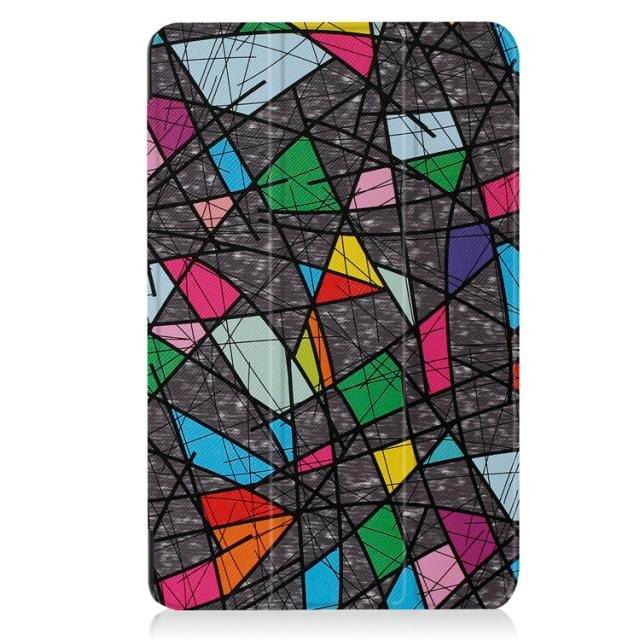 galaxy tab a 10 1 2016 case with a huge collection of pictures and 3 stand Diamond lattice: