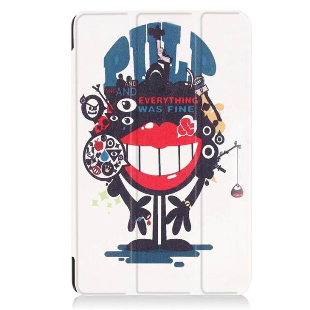 galaxy tab a 10 1 2016 case with a huge collection of pictures and 3 stand big mouth to blame: