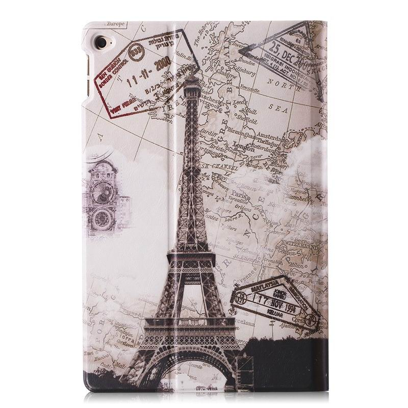 ipad air 2 case with a large collection of images 2 stand and plastic housing Map Tower: