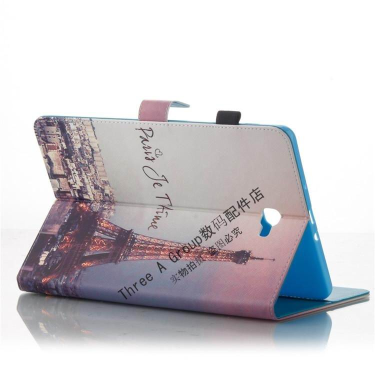 galaxy tab a 10 1 s pen 2016 case with a large selection of pictures 2 stand and card sections