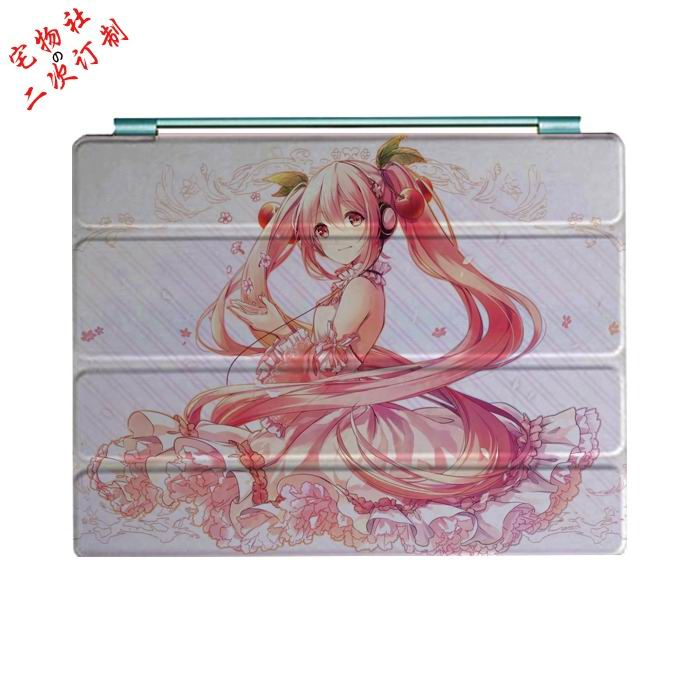 Case With Cartoon Anime Girls And 3 Stand For Ipad 2 Ipad 3 Ipad 4 Ipad Mini 1 Ipad Mini 2 Ipad Mini 3 Ipad Air 1 Ipad Air 2