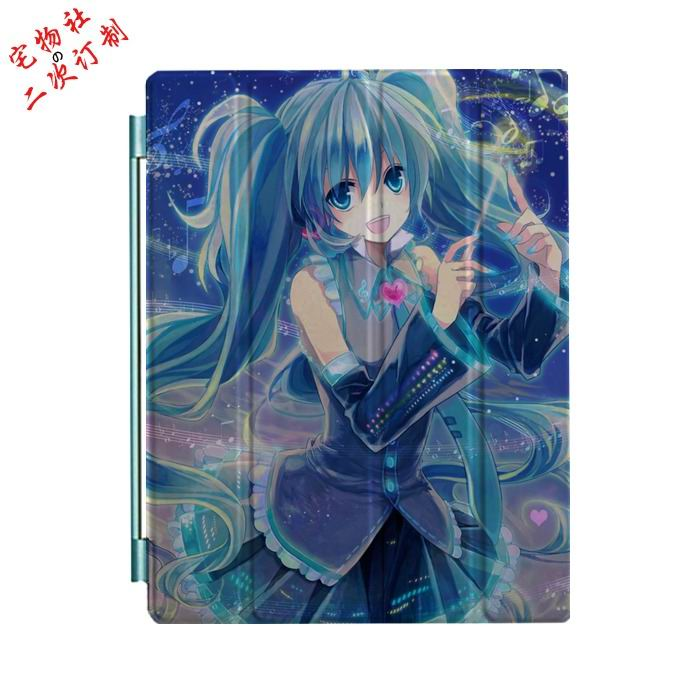 ipad mini 3 case with cartoon anime girls and 3 stand Picture 11:
