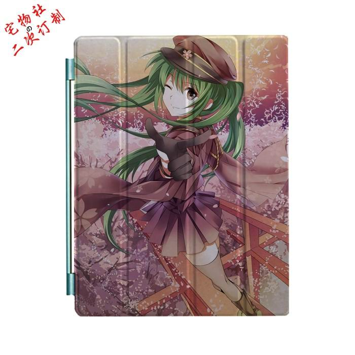 ipad mini 3 case with cartoon anime girls and 3 stand Picture 12:
