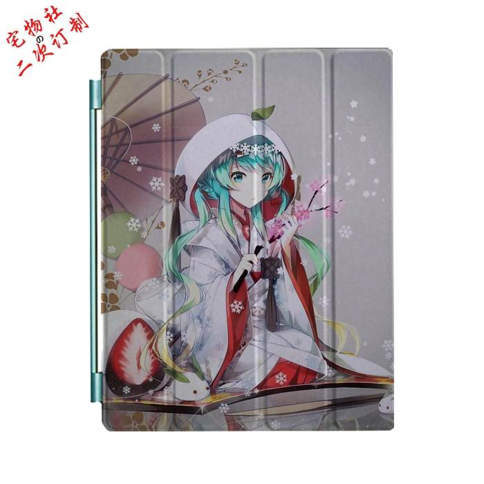 ipad mini 3 case with cartoon anime girls and 3 stand Picture 15: