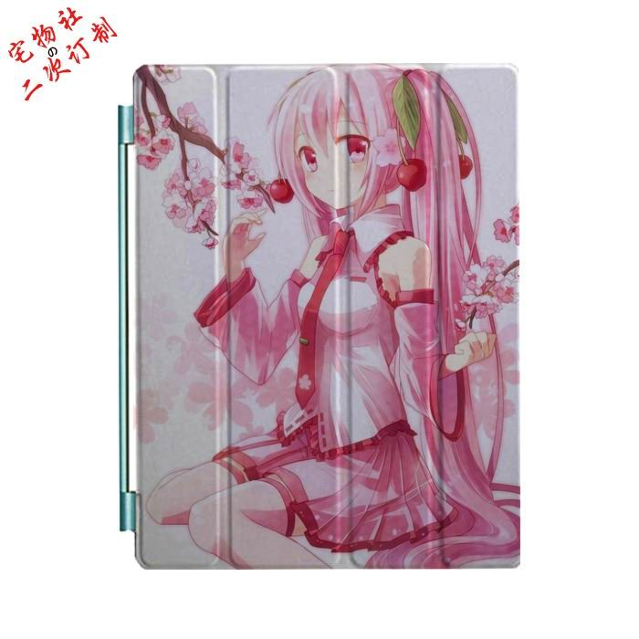ipad mini 3 case with cartoon anime girls and 3 stand Picture 17: