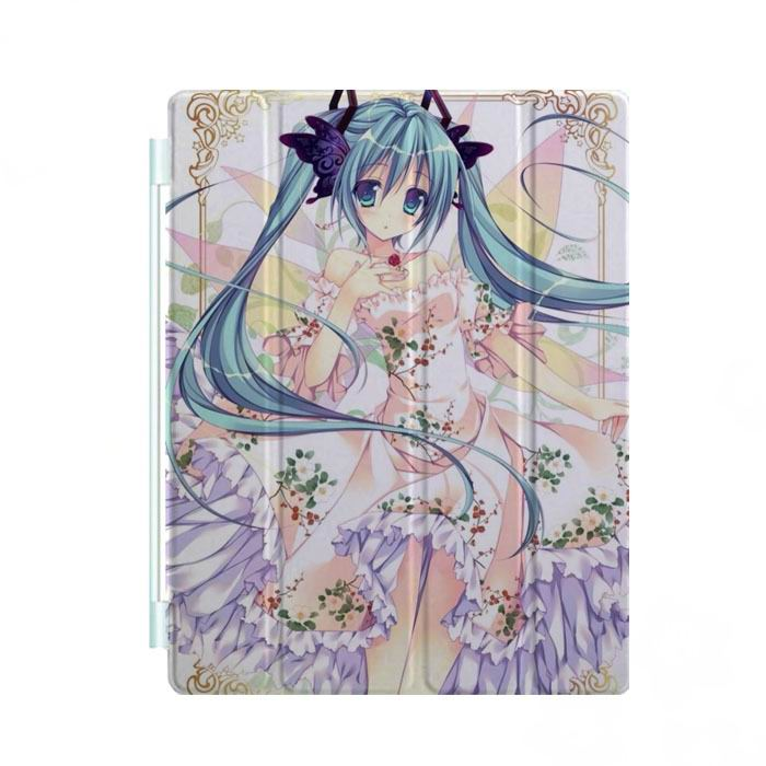 ipad mini 3 case with cartoon anime girls and 3 stand Picture 4: