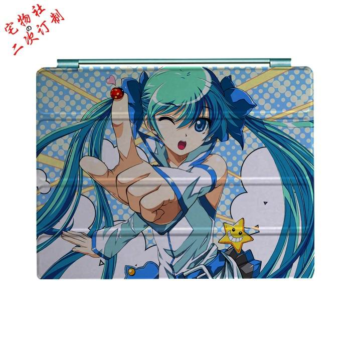 ipad mini 3 case with cartoon anime girls and 3 stand Picture 7: