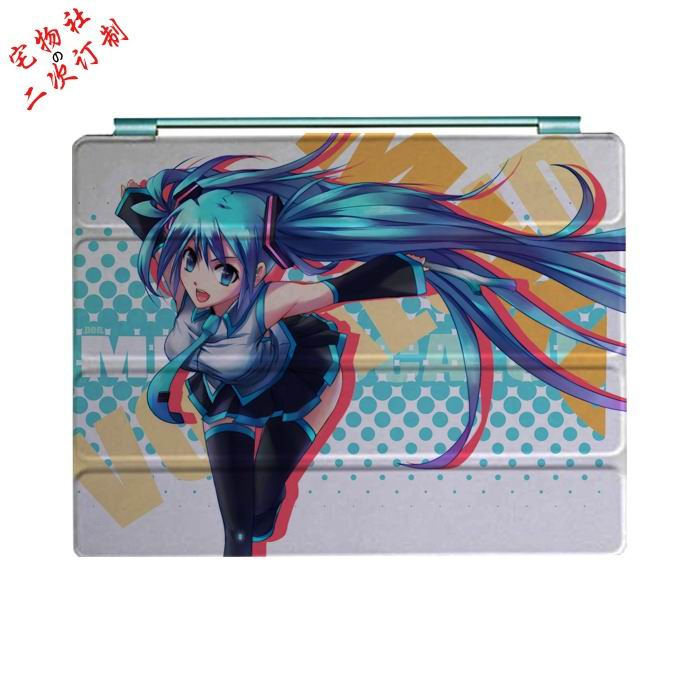 ipad mini 3 case with cartoon anime girls and 3 stand Picture 8: