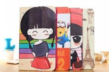 case with cartoon heroes paris and with 2 stand 00