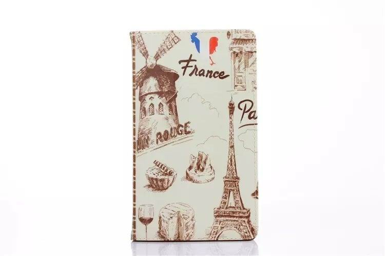 mediapad t1 70 plus case with cartoon heroes paris and with 2 stand france: