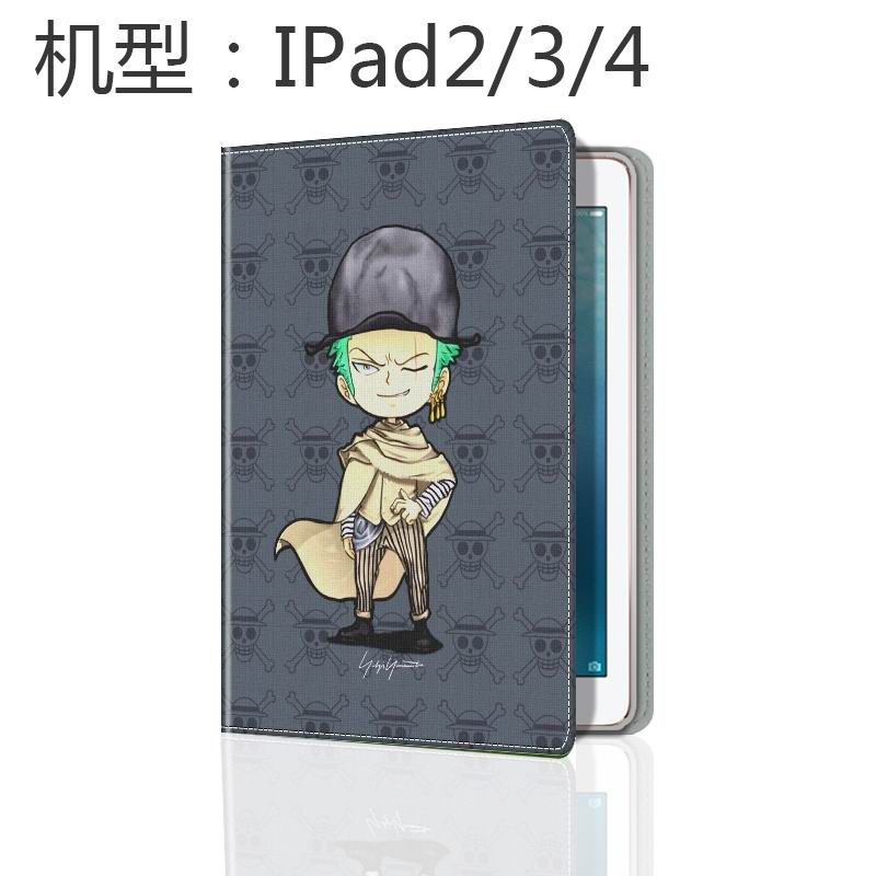 ipad mini 3 case with cute illustrations of cartoon heroes and with 2 stand wave ya: