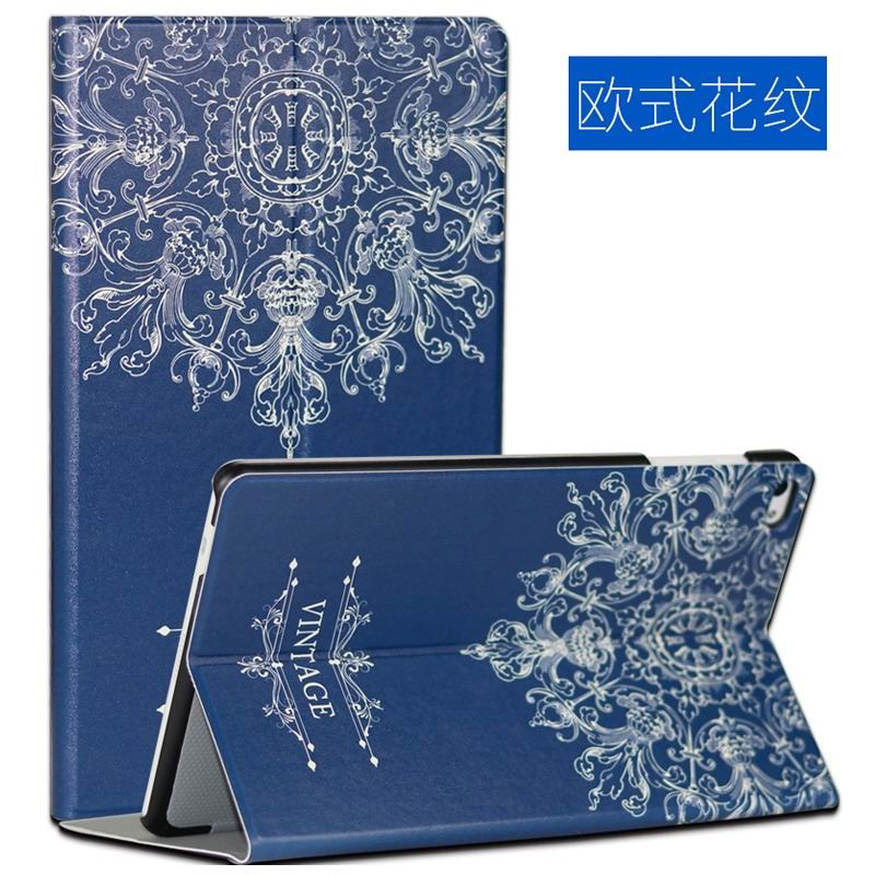 mediapad m2 10 case with cute images and 2 stand European pattern: