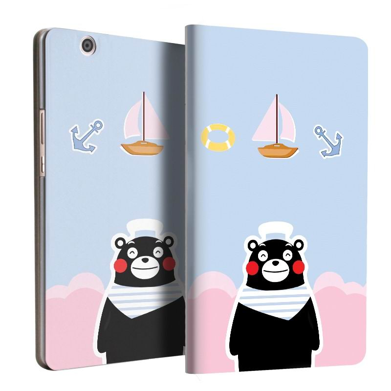 mediapad m3 case with cute pictures and 2 stand Navy bear: