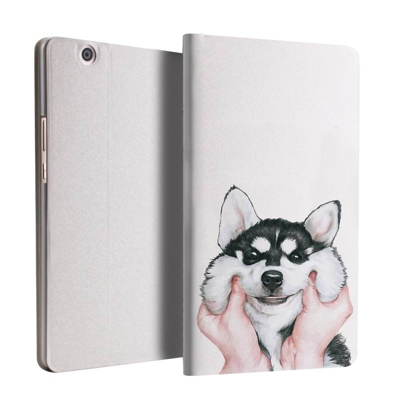 mediapad m3 case with cute pictures and 2 stand The second ha: