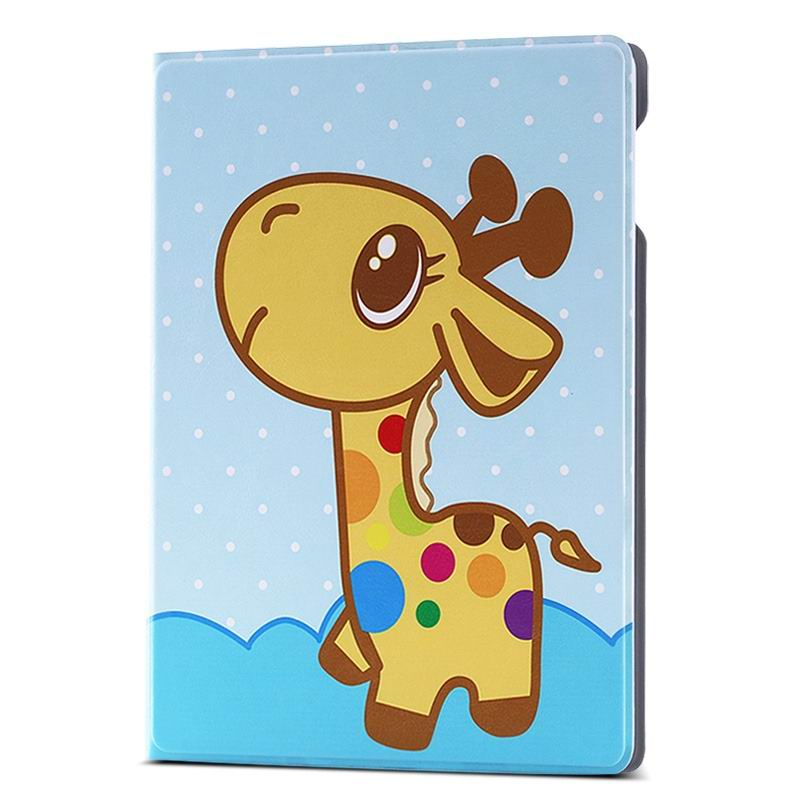 ipad air 2 case with different nice pictures with 2 stand and hard body Leisurely fawn: