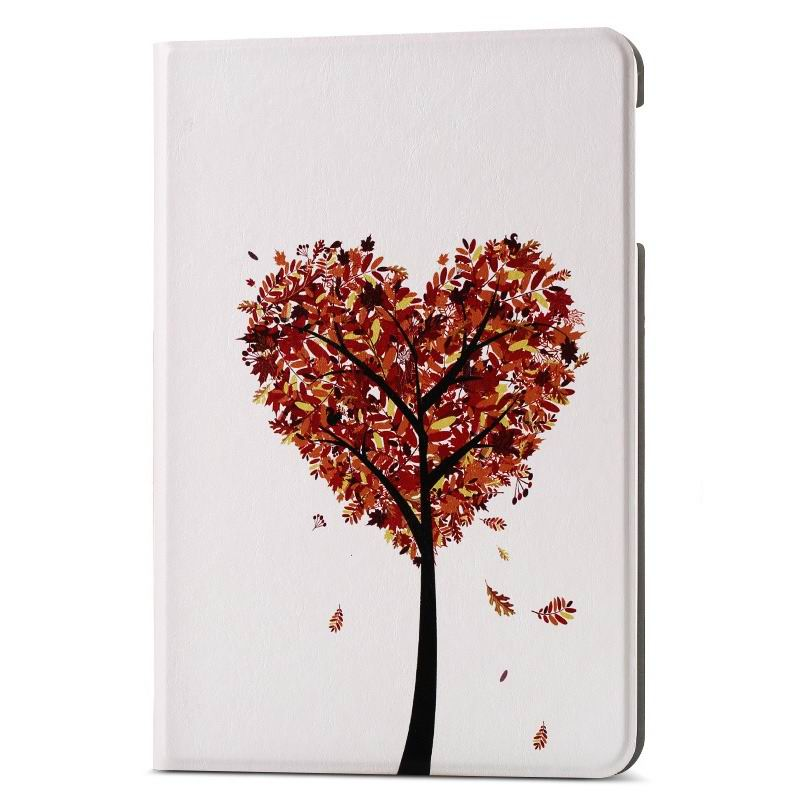 ipad air 2 case with different nice pictures with 2 stand and hard body Love the little tree: