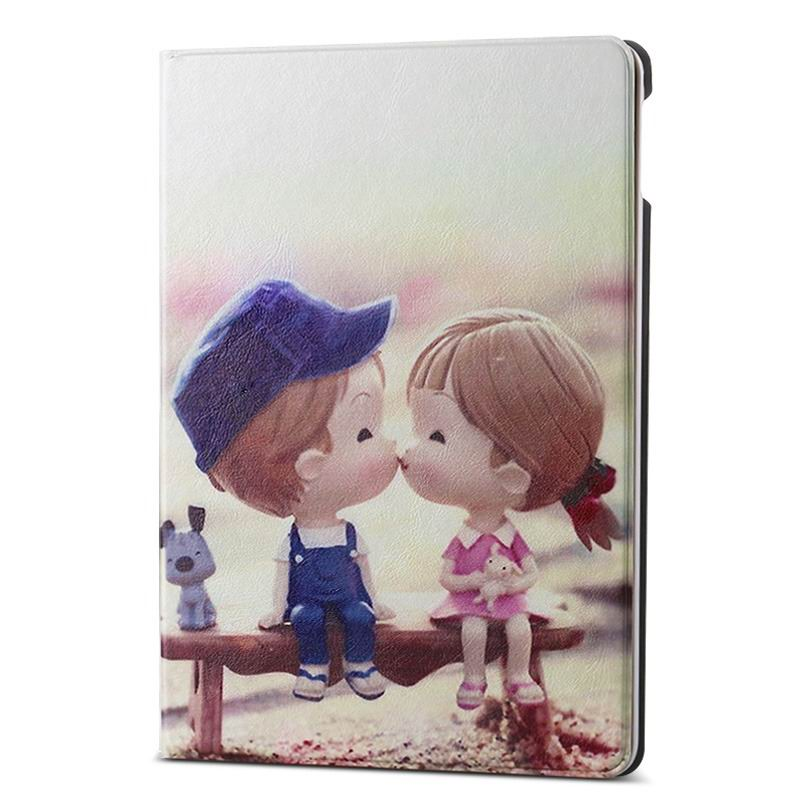 ipad air 2 case with different nice pictures with 2 stand and hard body love is: