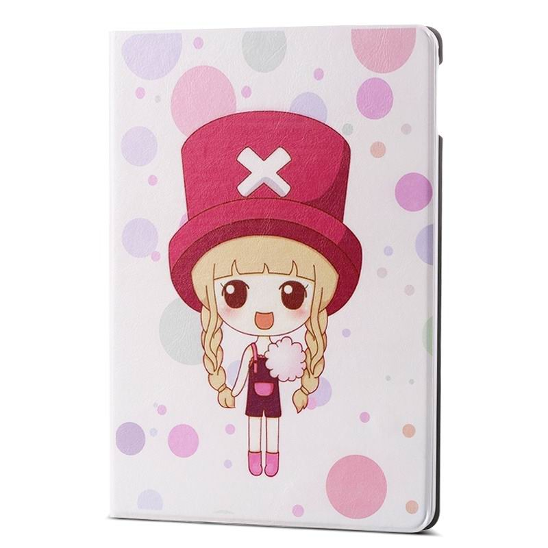 ipad air 2 case with different nice pictures with 2 stand and hard body X cap girl: