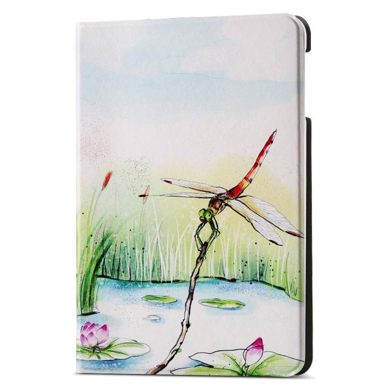 ipad air 2 case with different nice pictures with 2 stand and hard body Small dragonfly: