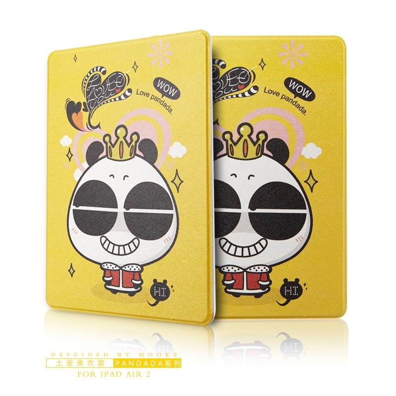 ipad air 2 case with funny pictures 2 stand and plastic body Tyrant beauty clothes: