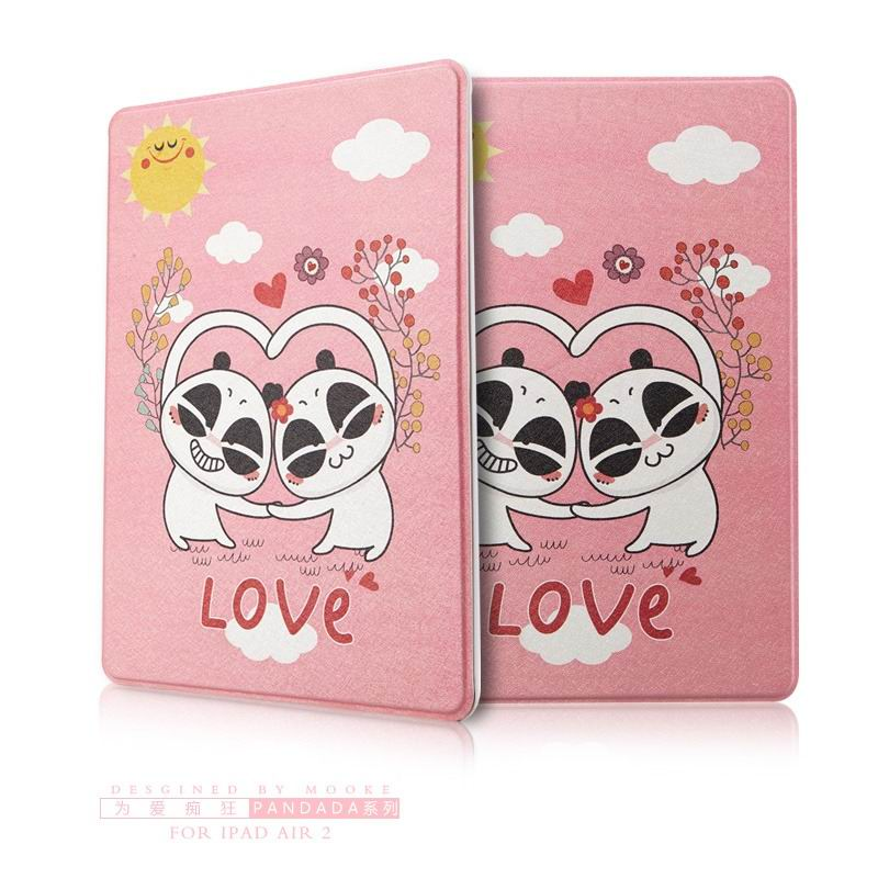 ipad air 2 case with funny pictures 2 stand and plastic body To love the crazy:
