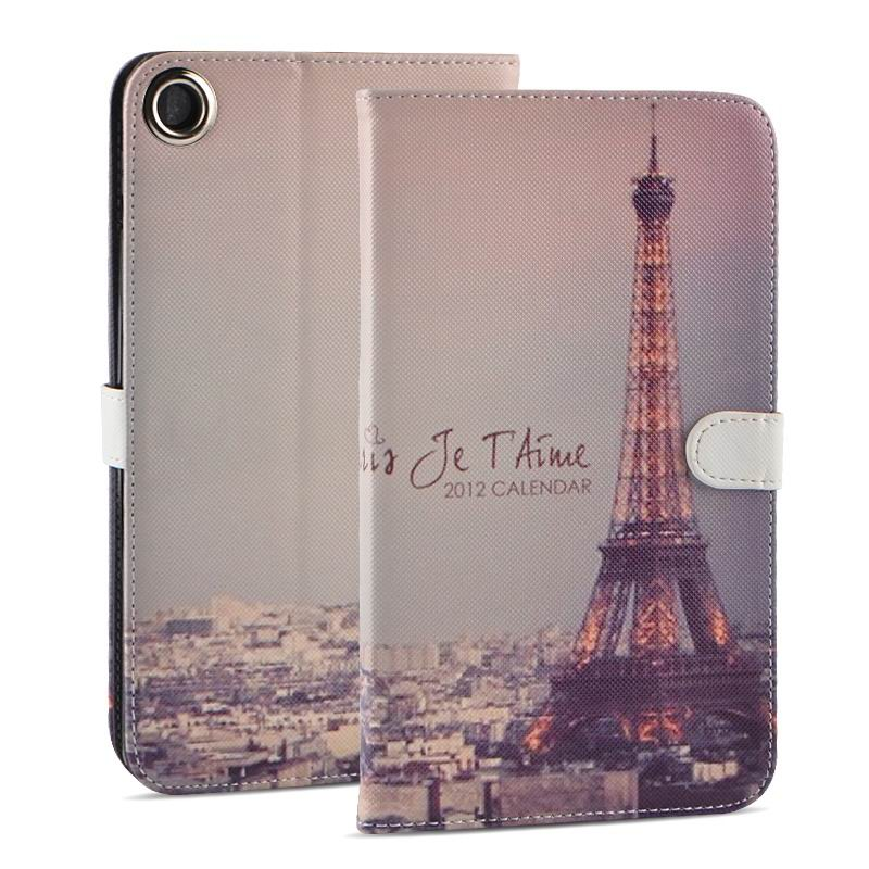 mediapad t1 70 plus case with funny pictures 2 stand and rubber housing inside 2 The dusk Tower: