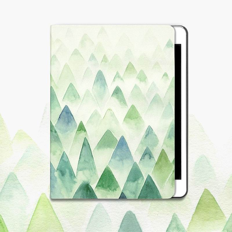 ipad air 2 case with gentle pattern with 2 stand and plastic housing inside :