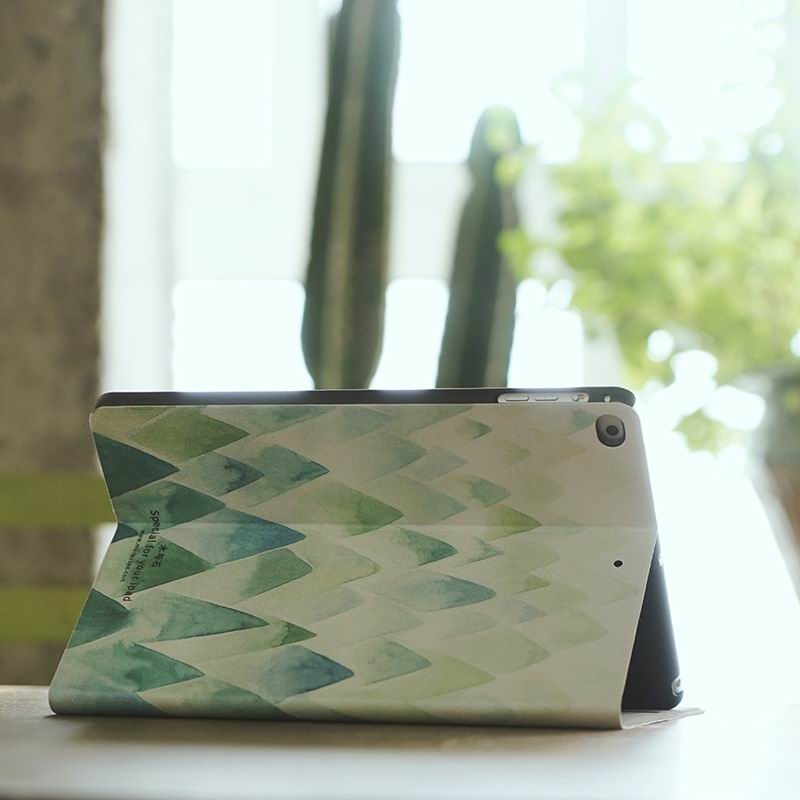 ipad air 2 case with gentle pattern with 2 stand and plastic housing inside 2: