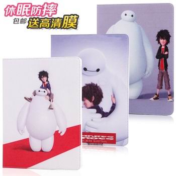 case with images of cartoon heroes with 2 stand and hard white plastic body 00