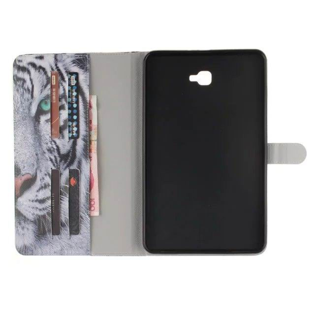galaxy tab a 10 1 2016 case with original pictures 2 stand card pockets and plastic body 2