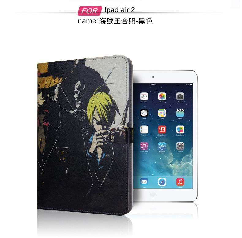 ipad air 2 case with pictures of cartoon heroes with 2 stand and plastic body 5: