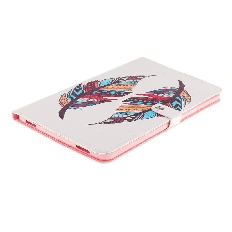 galaxy tab a 10 1 2016 case with the ability to select a drawing with 2 stand and plastic body