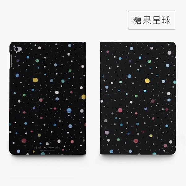 ipad mini 4 cute case with 2 stand plastic body and wide variations of illustrations candy planet: