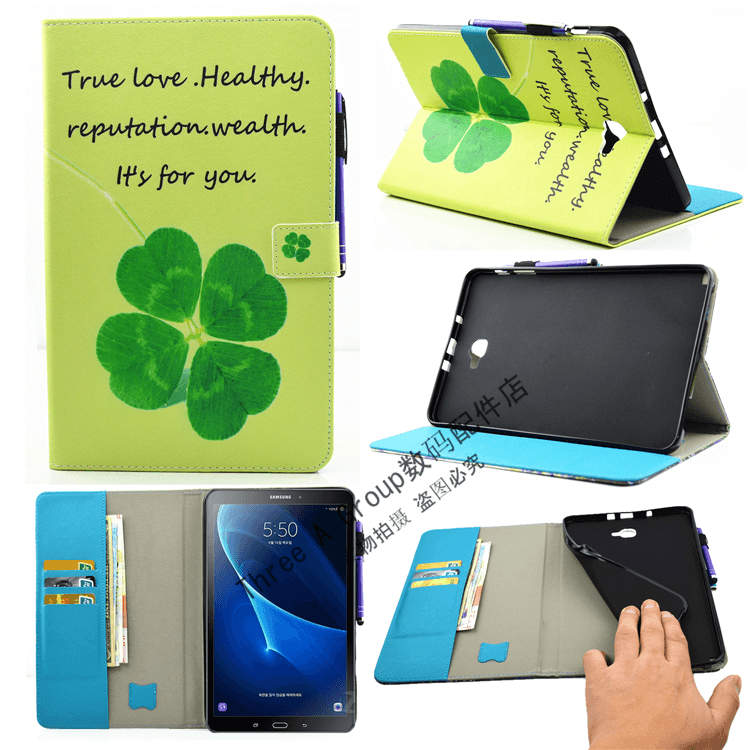 galaxy tab a 10 1 2016 cute case with a large selection of pictures 2 stand silicone housing and with holder flower: