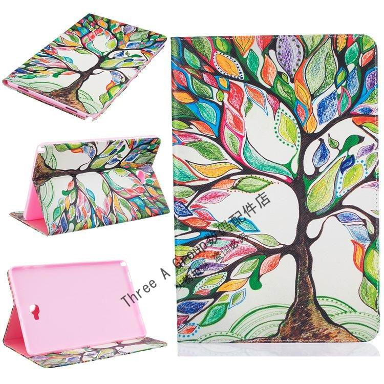 galaxy tab a 10 1 s pen 2016 cute case with a wide selection of bright illustrations 2 stand and card slots