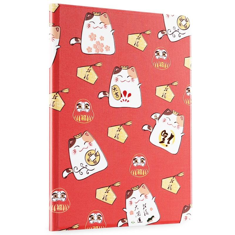 ipad air 2 cute case with a wide variety of illustrations 2 stand and plastic body good luck: