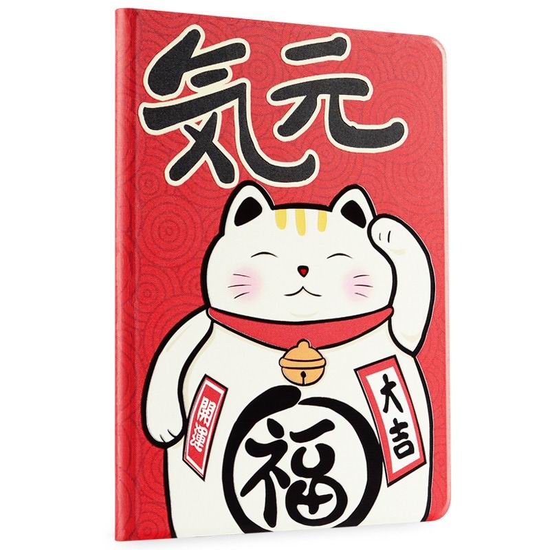 ipad air 2 cute case with a wide variety of illustrations 2 stand and plastic body Vitality full: