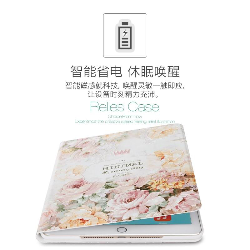 ipad air 2 cute case with a wide variety of illustrations 2 stand and plastic body