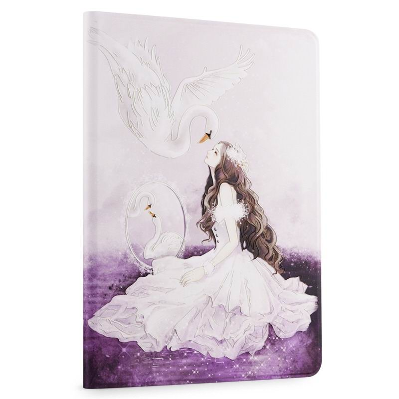ipad air 2 cute case with a wide variety of illustrations 2 stand and plastic body The Swan Princess:
