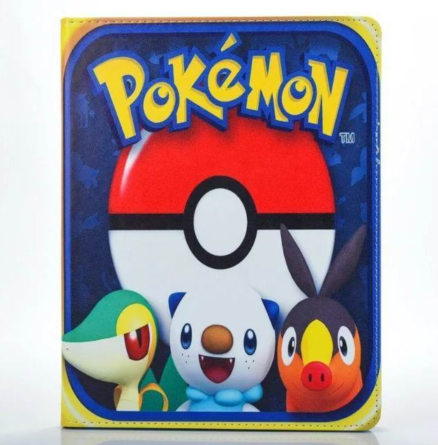 ipad air 2 cute case with pictures of cartoon heroes and blue inside with 2 stand and silicone housing Figure 4: