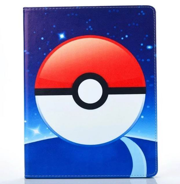 ipad air 2 cute case with pictures of cartoon heroes and blue inside with 2 stand and silicone housing Figure 5: