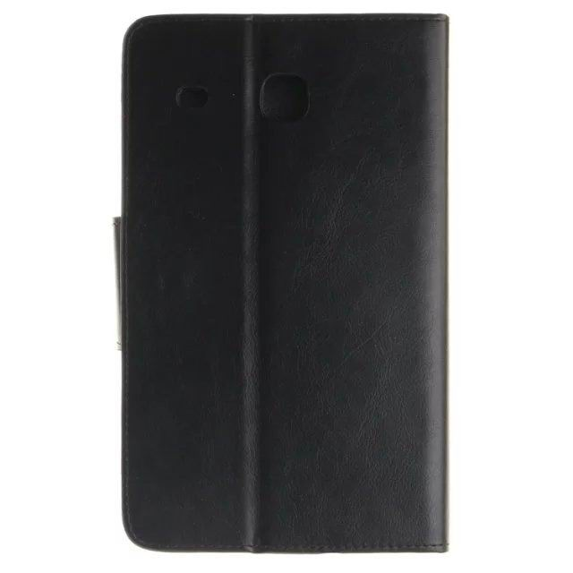 galaxy tab a 7 0 2016 monochromatic case of dermantine with embossed pattern 2 stand and card slots