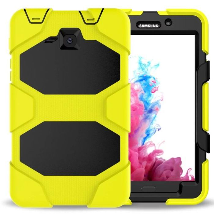galaxy tab a 7 0 2016 monochromatic cover with stand and with a wide choice of colors